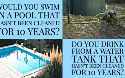 Swimming Pool vs Rainwater Tank