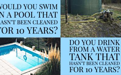 Swimming Pool vs Rainwater Tank