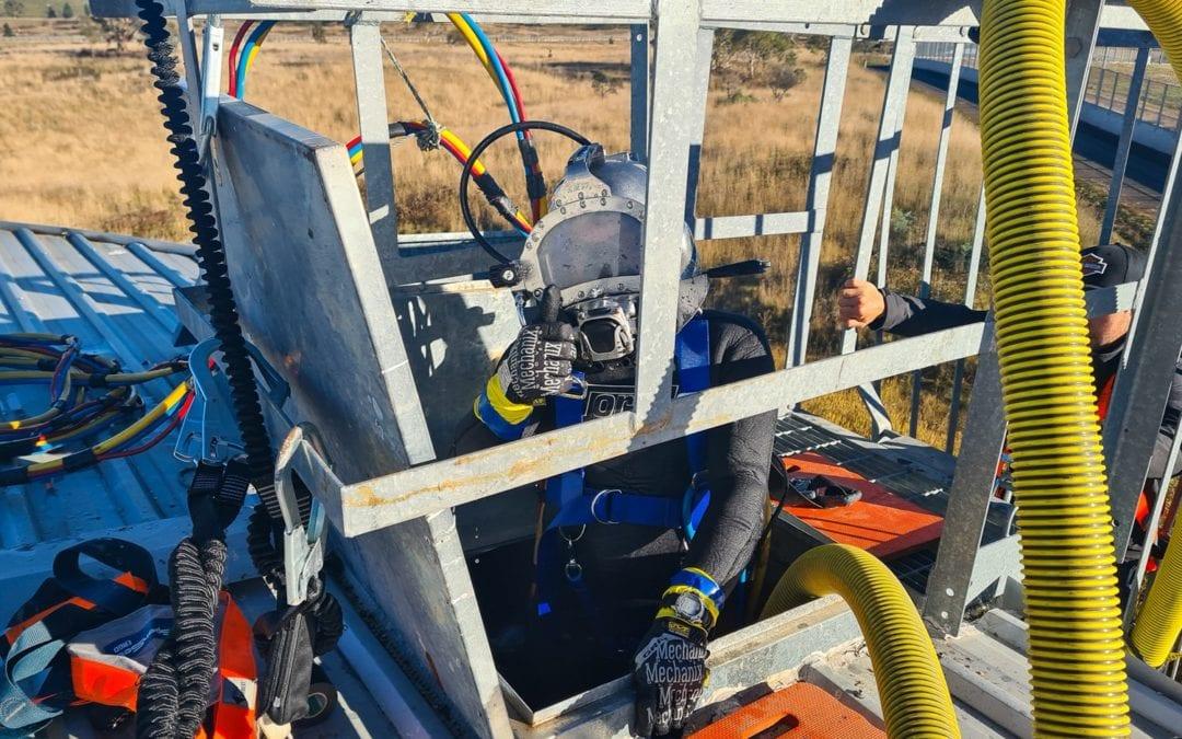 2 x 1,000,000L Fire Retention Tanks, Bungendore